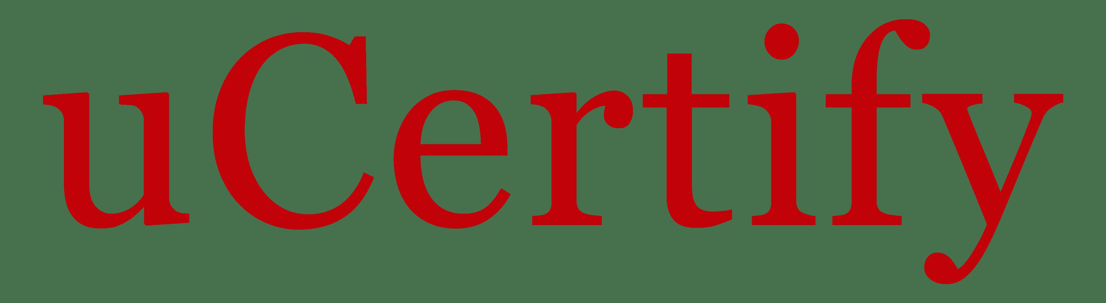 ucertify logo
